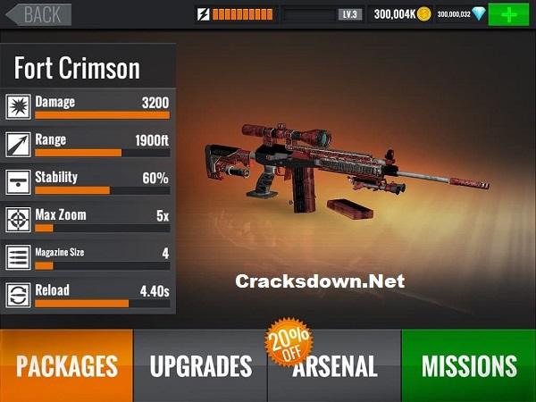 Sniper 3D MOD APK v3.25.1 + Crack (Latest Version)
