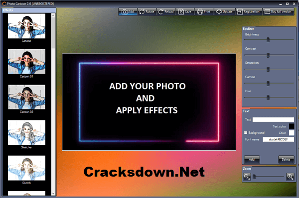 PhotoCartoon Professional Crack v4.5 + Patch With Serial Key [ Latest ]
