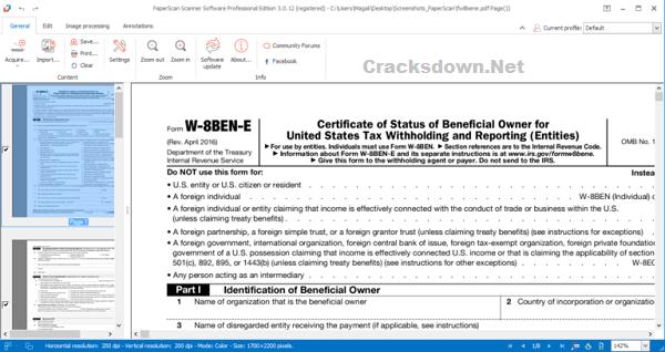 PaperScan Professional Crack V3.0.124 + License key [Latest Version]