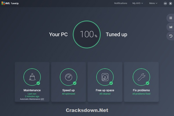 AVG PC TuneUp Crack v20.1.2404 With Keygen + Activation Code