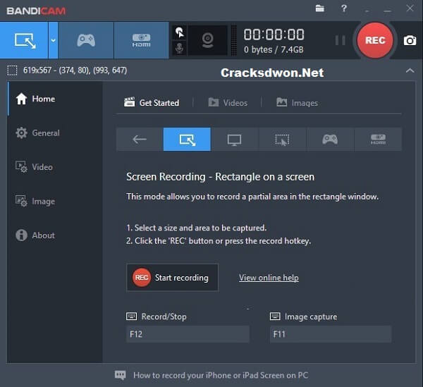 Bandicam Crack v5.0.2.1813 With Activator + Keygen [Latest Version]