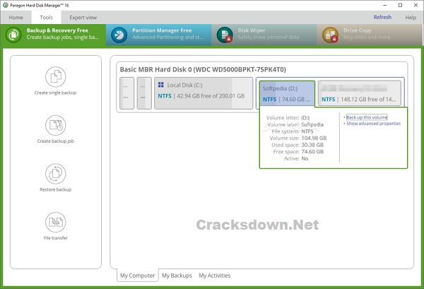 Paragon Hard Disk Manager Advanced Crack v17.16.12 + Keygen