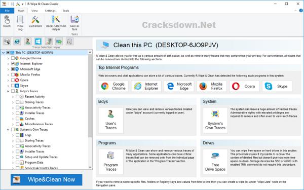 R-Wipe & Clean Crack v20.0 Build 2308 + Key [ Latest Version ]