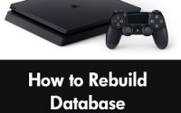 How to Rebuild Database PS4 in 2021 | PS4 Rebuild Database