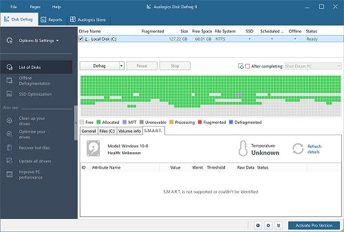 Auslogics Disk Defrag Pro Crack v10.0.0.4 with Key [Latest]