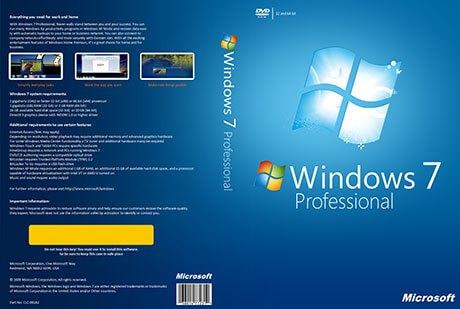 Windows 7 Professional Crack i
