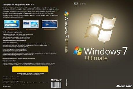 Window 7 Ultimate ISO Crack